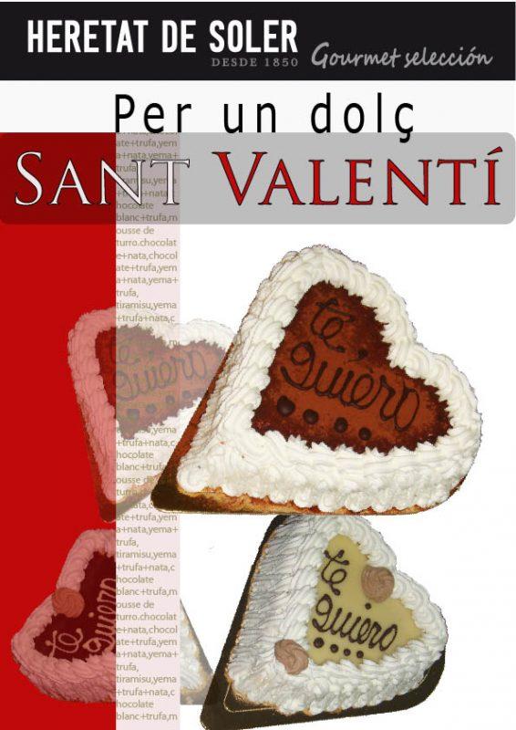 tartas de san Valentin