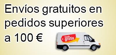 Envío gratis a partir de 100€
